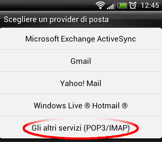 Android Mail